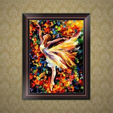 5D Diamond Embroidery Dancing Girl Painting Cross Stitch DIY Craft Home Decor
