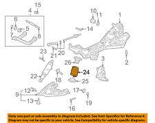 Pontiac GM OEM 01-05 Aztek Rear Suspension-Spring 10412897