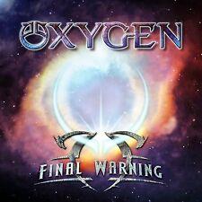 Oxygen - Final Warning - Swedish Melodic Hard Rock CD 2012 with Tony Niva