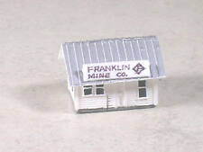 Z Scale Franklin Mining Company Office