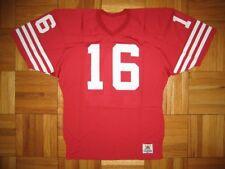 80s Authentic Sand-Knit SF 49ers Joe Montana jersey 44 PRO-Line Vintage