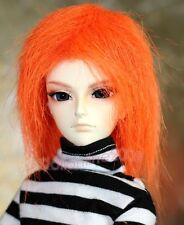 """MSD 17~18cm 7~8"""" 1/4 fur wig BJD Doll orange Hair AOD DOD AF DK DZ POPO LUTS DL"""