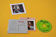 CD (NO LP ) JOHN COLTRANE GIANT STEPS ORIG USA DIGIPACK EX TOP JAZZ LIBRETTO