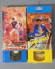 Filipino VHS lot - Regal Home Video - Phillipines Action colored tapes