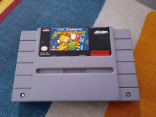 Simpsons Bart's Nightmare for SNES US NTSC Super Nintendo console
