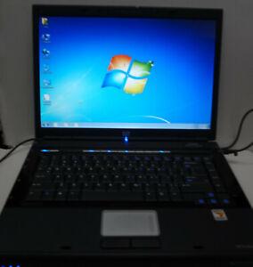 HP DV5000 DV5210us Laptop WiFi 60GB 1.5GB AMD 1.8Ghz Windows XP Key DVD Charger