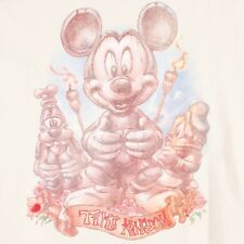 Disney Mickey Tiki Kingdom Mens Large Studio Collection Mouse Hut T Shirt