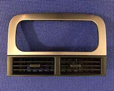 Dash Radio Trim Bezel, Jeep Grand Cherokee 99-04 WJ Brushed Silver 1999-2004