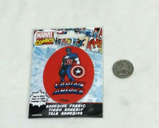 Marvel Comics Captain America Adhesive Fabric Jersey Jacket Patch Peel & Stick