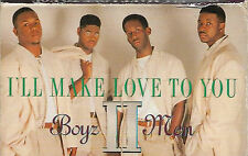 Boyz II Men ‎I'll Make Love To You CASSETTE SINGLE RnB/Swing Soul Motown