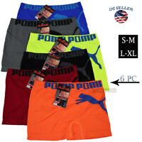 Lot 6 Pack Mens Microfiber Boxer Briefs Underwear Compression Stretch Sport (3)
