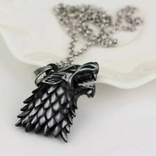 Collier Loup Stark Game Of Thrones
