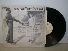 LP: NEW CROSS FIRE PAGE ONE; SIR COLLINS PAYS TRIBUTE; UK ORIG SC.001 NEAR MINT