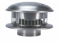 Selkirk  5 in. Dia. Aluminum  Stove Pipe Metalbestos Top