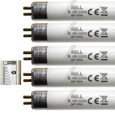 "5 x 14w T5 Fluorescent Tubes 22"" 549mm White Strip Light Lamp Bulb 14 Watt BELL"