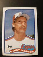 1989 Topps #647 Randy Johnson RC Rookie MINT HOF