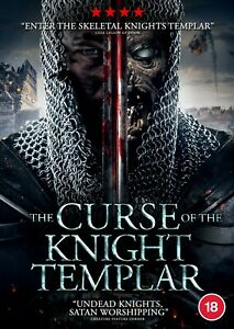 CURSE OF THE KNIGHT TEMPLAR, THE (RELEASED 2nd NOVEMBER) (DVD) (NEW)