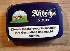 5 x 10g Kloster Andechs Snuff von Pöschl Schnupftabak