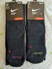 Nike Academy Over-The-Calf Soccer Socks, Green or Pink on Black, Medium, Large