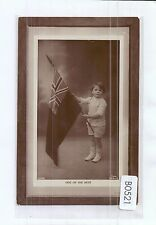 B0521pac People Child with Flag One of the Best Rapid PU Mount Gambier postcard