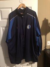 Dallas Mavericks Nike Vintage Blue Warm Up Shooting Jacket Size XXL
