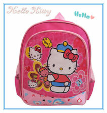 SMALL PINK KITTY CAT KIDS CHILD PRESCHOOL BACKPACK SHOULDER SCHOOL BAG