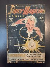 Super Magician Comic Vol 4 No.9 January 1946 Blackstone The Magician, Rio Dragon