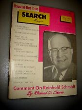 Search Magazine #41~ 1961 paranormal UFO'S ASTROLOGY in defense of Judas