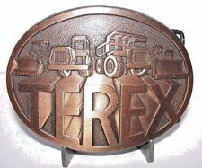 TEREX Dump Truck Scraper Wheel Loader Crawler Tractor Construction Belt Buckle