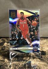 2019-20 Panini Donruss Elite Zion Williamson Rookie Card #'d /299 Pelicans RC