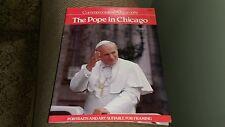 Commemorative Album 1979 The Pope In Chicago Framable photos Art Tour book Rare