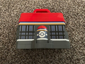 Pokemon Play n Store Carry Storage Case only (No figures) 2013 Anime Pikachu