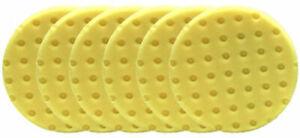"""6 PK Lake Country yellow cutting CCS Foam Pads DA 5.5"""""""