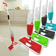 700ML Spray Floor Mop Water Spraying Floor Cleaner Includes 2 Microfibre Pads