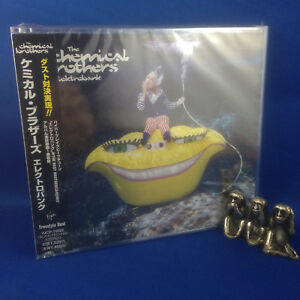 THE CHEMICAL BROTHERS: Elektrobank RARE MAXI 1997 JAP CD VJCP-15022 + BONUS TRK
