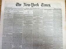 <1863 CIVIL WAR newspaper JOHN SINGLETON MOSBYS GUERRILLA RANGERS Bealeton Va