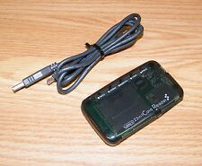 Unbranded Transparent Slim (USB2.0) 23 in 1 Card Reader w/ USB Cable **READ**