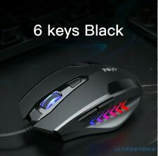 USB Wired Gaming Mouse 2400DPI Adjustable 7 Buttons