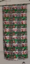 TERRIART  Dogs & Cats with Santa Hats 58x13 Lg Scarf-Vintage