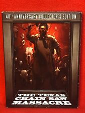 The Texas Chainsaw Massacre (2014) 4-Disc Blu-ray/Dvd 40th Anniversary Rare Oop!