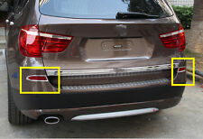 2011-2013 For BMW X3 F25 Rear Tail Fog Lights Lamp Cover Trim Decoration 2pcs