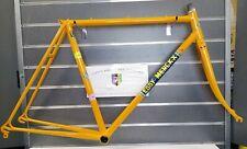 Vintage Eddy Merckx Professional Steel Frame 53cm Molteni Orange Dated 1985