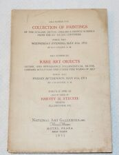 Gothic & Renaissance Art Objects, NATIONAL ART GALLERIES NY 1931 Catalog #5 & #6