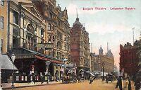 POSTCARD    LONDON  Leicester   Square   Empire  Theatre