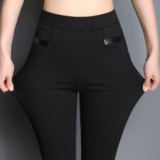 Women Ladies Skinny Pants Stretchy Leggings Jeans Pencil Trousers Plus Size New