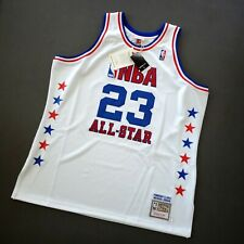 100% Authentic Michael Jordan Mitchell Ness 03 All Star Jersey Size 52 2XL Mens