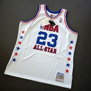 100% Authentic Michael Jordan Mitchell Ness 03 All Star Jersey Size 52 2XL Mens