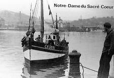 """CP - Le chalutier """"Notre-Dame du Sacré Coeur"""" à Cherbourg"""