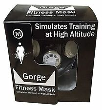 Gorge Fitness High Altitude Training Mask Medium - 70kg - 120kg FREE POST UK
