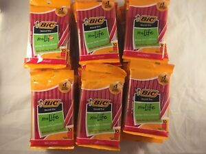 Bic Round Stic Xtra Life Medium Red Ballpoint Pens 60 Ten Packs 600 Total pens